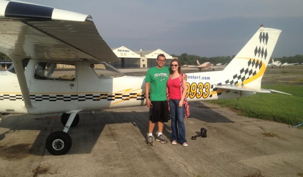 Flying A Plane!